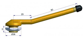 Вентиль б/к для подземной техники  R-1051-2